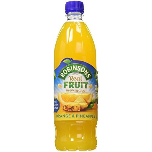 Robinsons Orange and Pineapple Fruit Squash Concentrate 1L