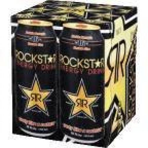 Rockstar Energy Drink, Original, 16 fl oz, 4pk
