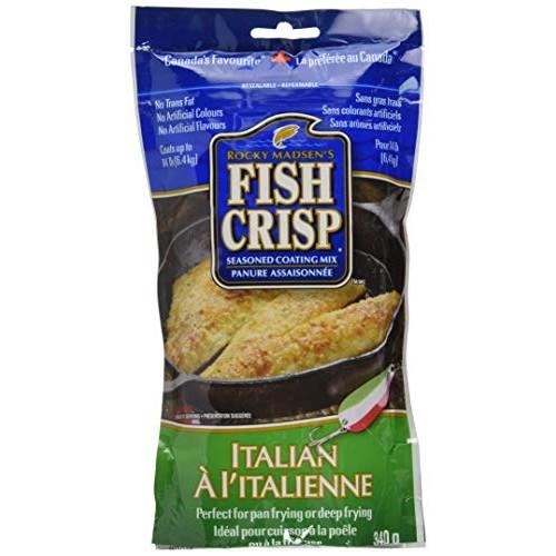Rocky Madsens Fish Crisp Seasoned Coating mix Italian Flavour, ...