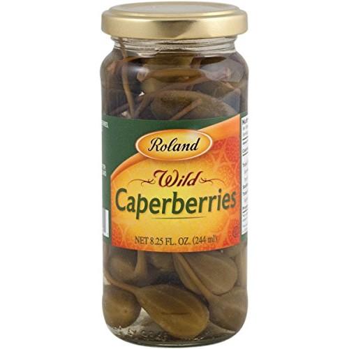 ROLAND Caper Berries, 8.25 OZ
