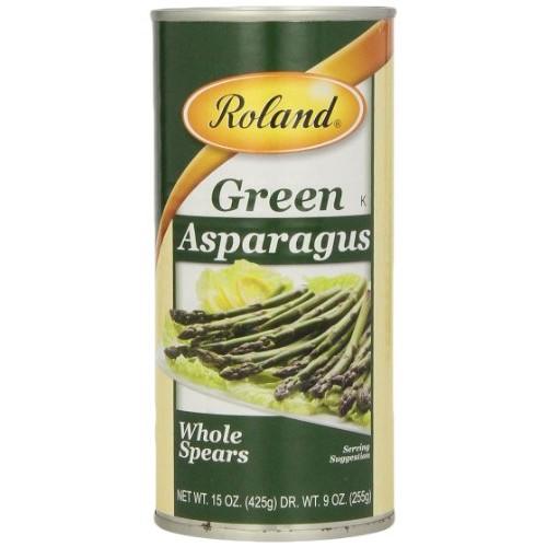 Roland Foods Asparagus, Green Whole Spears, 15 Ounce
