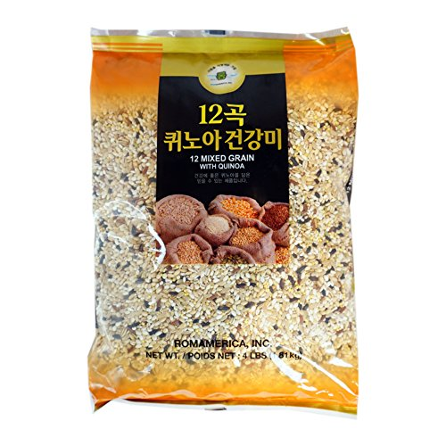 ROM AMERICA 12 Premium Mixed Grains with Quinoa Sweet Brown Rice...