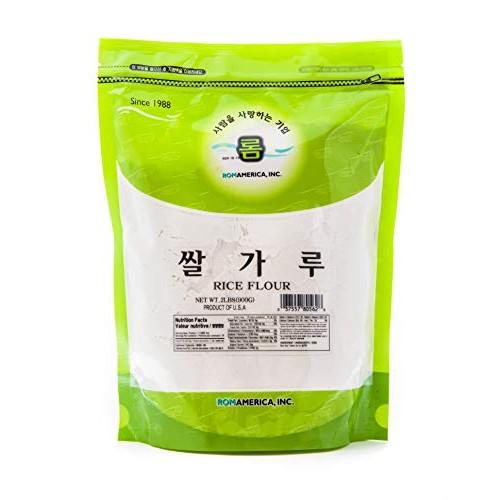 ROM AMERICA [ 2 Pound ] Glutinous Rice Flour 쌀가루 2 LBs