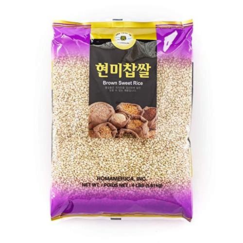 ROM AMERICA Brown Sweet Rice Sticky Rice Glutinous Rice 현미찹쌀...