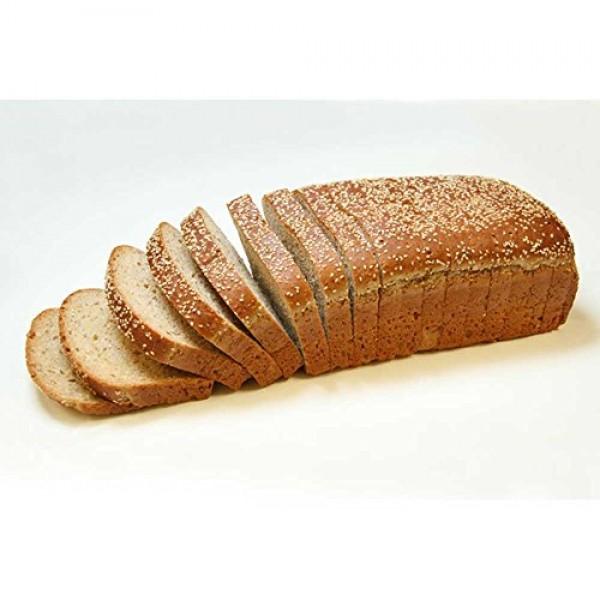 Rotellas 9 Grain Open Top Bread Loaf, 12.75 inch - 6 per case.