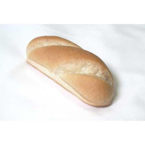 Rotellas Gourmet Scored Hot Dog Bun, 7 inch - 54 per case.