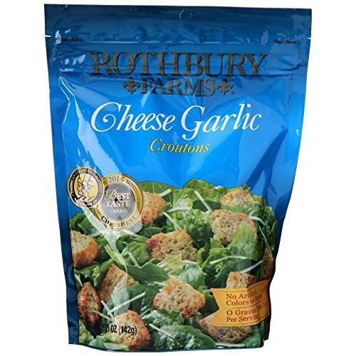 ROTHBURY FARMS Croutons, Cheese Garlic, 5 oz