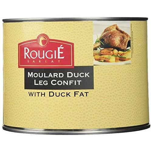 Rougie Confit of Duck Legs, 4 legs, 53oz 2 PACK