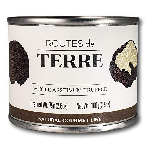 Routes de Terre Whole Black Summer Truffles Preserved in Natural...