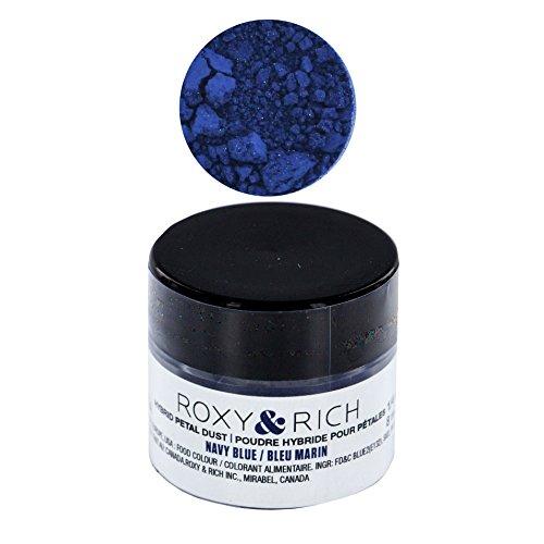 Edible Hybrid Petal Dust, Navy Blue by Roxy & Rich