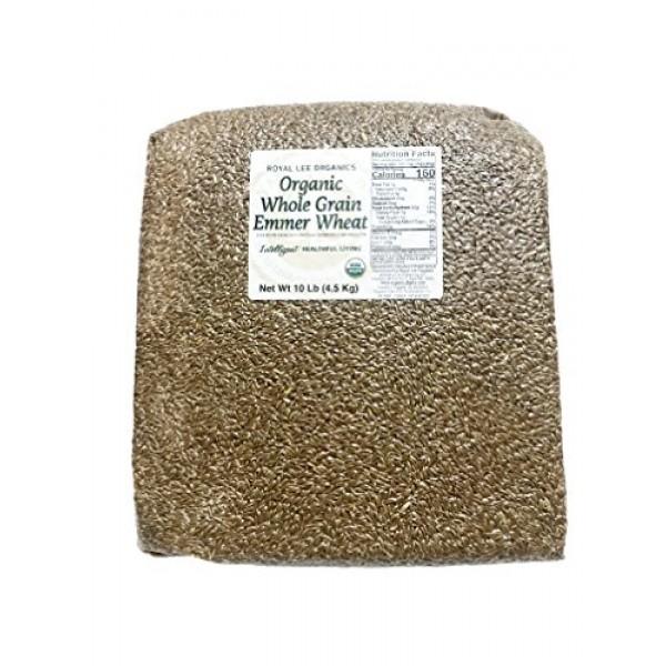 Royal Lee Organics by Standard Process Organic Whole Grain Emmer...