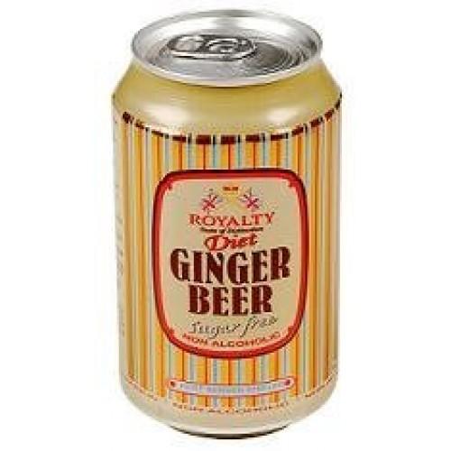 Royalty Ginger Beer Diet 330ml - 6 Pack