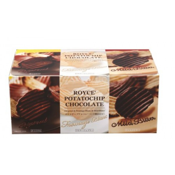Royce Potato Chip Chocolate [Three Taste] Shipping Form Hokkaodo...