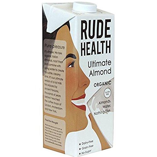 Rude Health Organic Almond Milk 1ltr 3 Pack