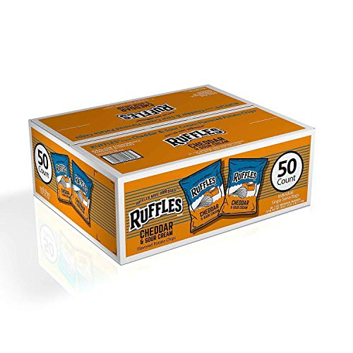 Ruffles Cheddar & Sour Cream - 50/1 oz. by Ruffles
