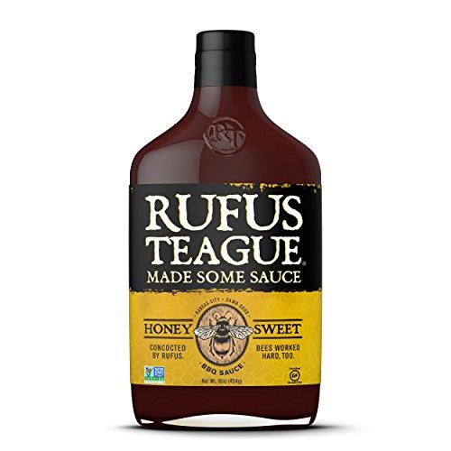 Rufus Teague, Sauce Bbq Hny Sweet, 16 OZ Pack of 2
