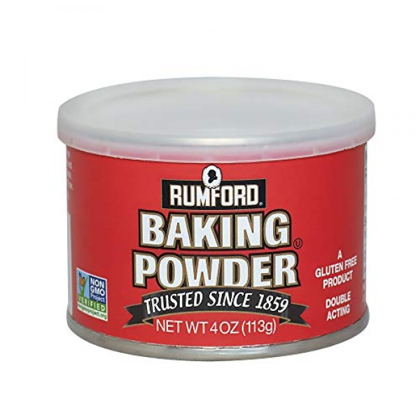 Rumford Baking Powder, NON-GMO Gluten Free, Vegan, Vegetarian, D...