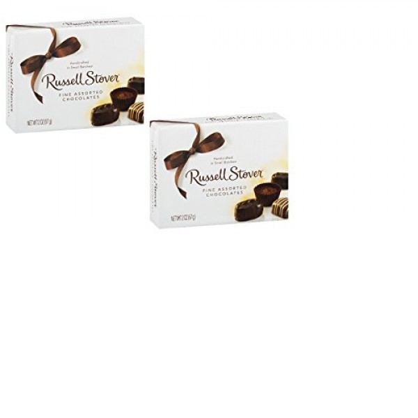Russell Stover Fine Assorted Chocolates Handcrafted in Small Bat...