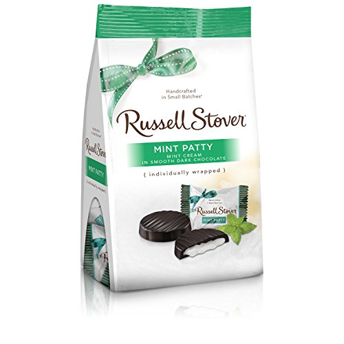 Russell Stover Mint Patty Mini Gusset Bag, 6 Ounce Bag