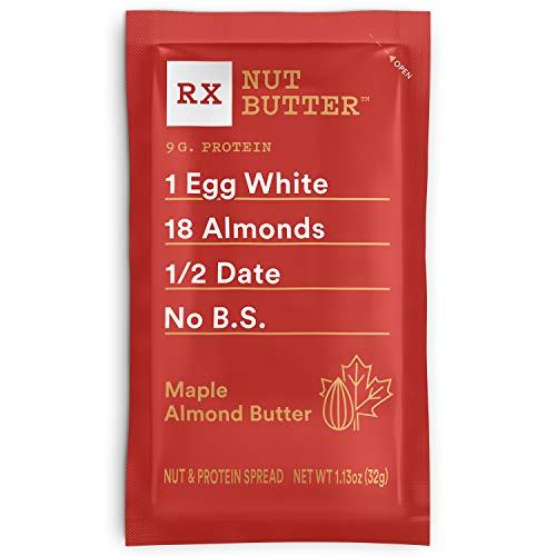 RXBAR, RX Nut Butter, Maple Almond Butter, Low Carb, Keto Frien...