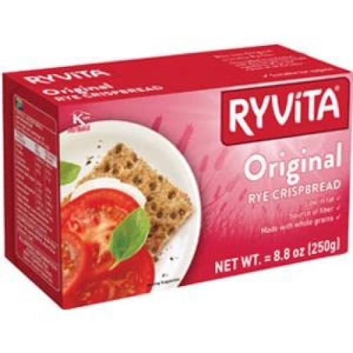 Ryvita Dark Rye 250g - Pack of 6