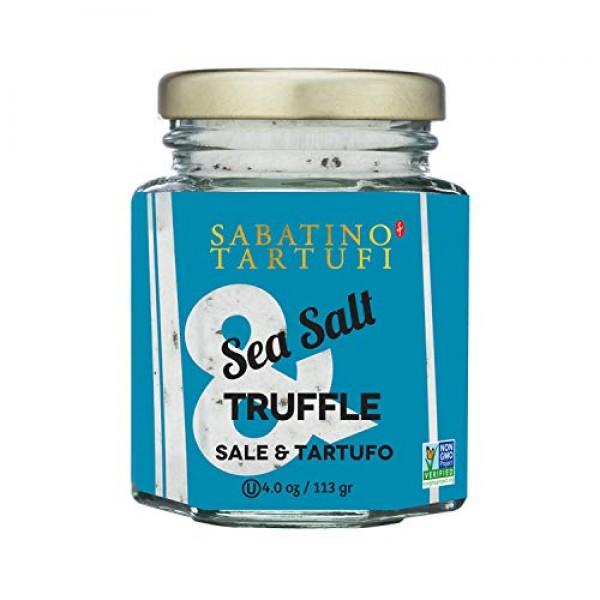 Sabatino Tartufi, Truffle & Salt, 4 Ounce Pack of 1