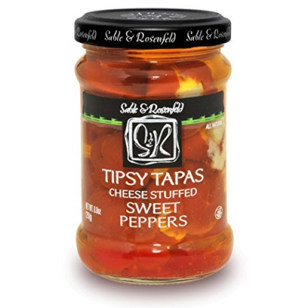 Sable and Rosenfeld Tipsy Tapas Sweet Peppers, 8.8 Ounce Pack o...