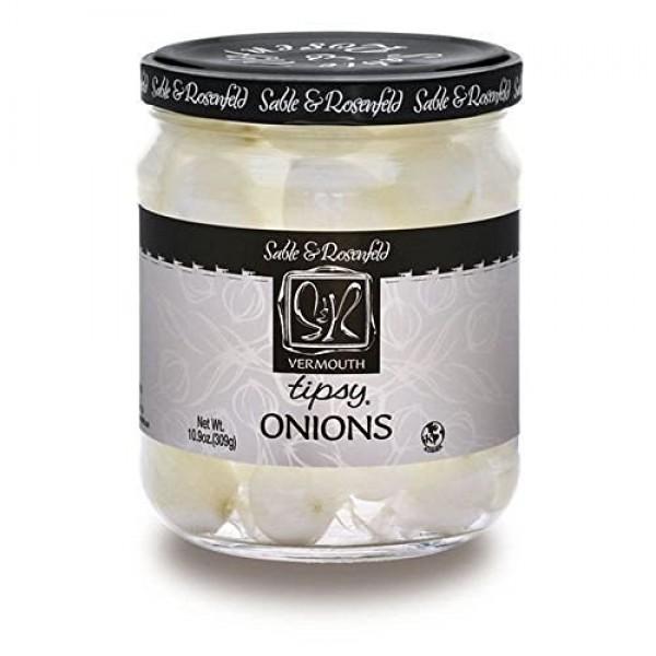 Sable & Rosenfeld Tipsy Onions - 10.9 Oz Two Jars
