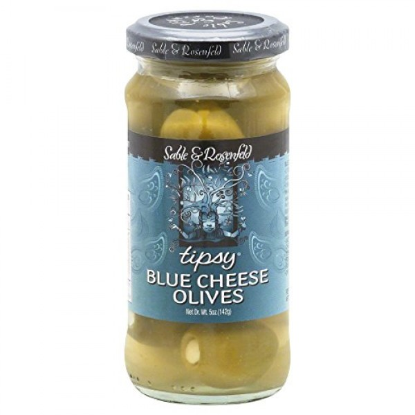 Sable & Rosenfeld Tipsy Blue Cheese Olives, 5 oz