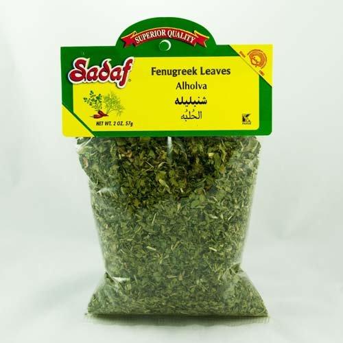 Sadaf Dried Persian Fenugreek Leaves Shanbalileh, 2 Ounce Bag