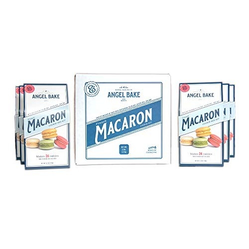 Angel Bake French Macaron Baking Mix 6-Pack. Includes buttercrea...