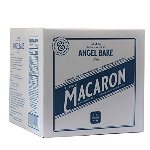 Professional French Macaron Baking Mix with Meringue-based Swiss...