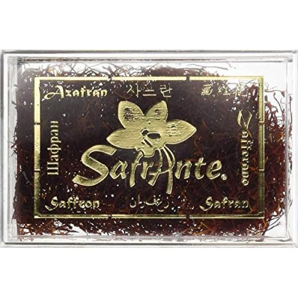 Superior Spanish Saffron Threads 2-Gram Acrylic Box Cat.1