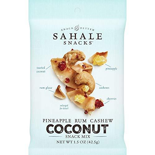 Sahale Snacks Pineapple Rum Cashew Coconut Snack Mix, 1.5 Ounces...