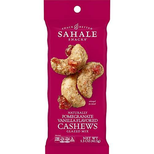 Sahale Snacks Pomegranate Vanilla Flavored Cashews Glazed Mix, 1...