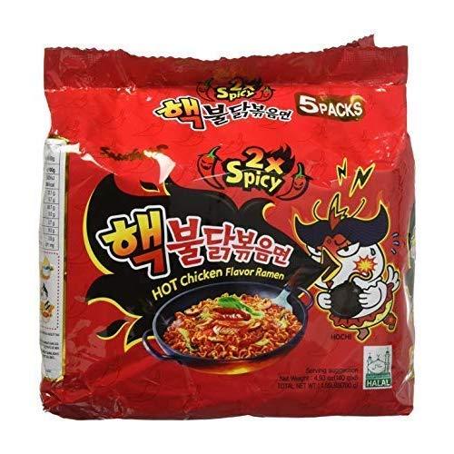 Samyang 2X Spicy Hot Chicken Flavor Ramen_KOREAN SPICY NOODLE 1...