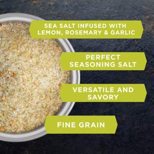 Organic Lemon Rosemary Sea Salt 2 lbs. by San Francisco Salt Com...