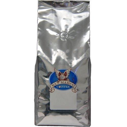 San Marco Coffee Flavored Ground Coffee, Peanut Brittle, 2 Pound