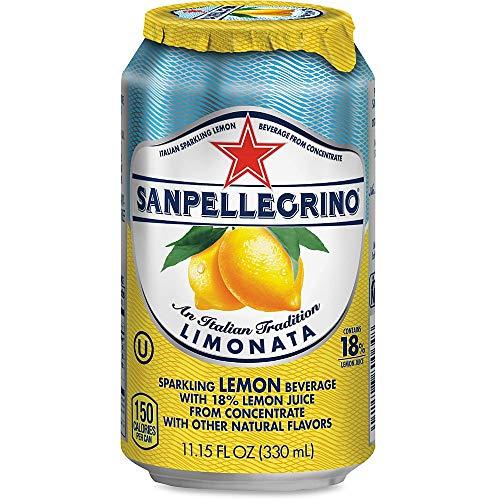 SANPELLEGRINO Italian Sparkling Fruit Beverage, 11.15 Oz, Limon...