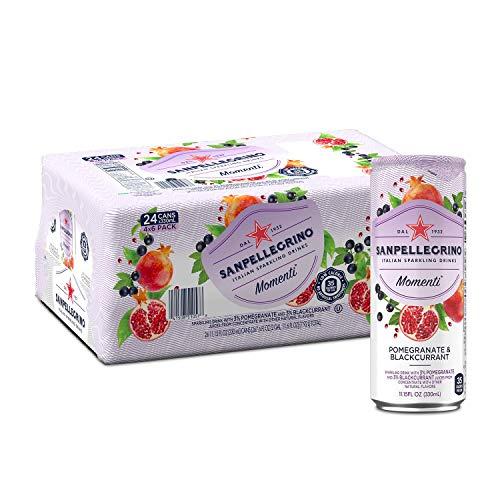 Sanpellegrino Momenti Pomegranate & Blackcurrant Cans, 11.15 Fl ...