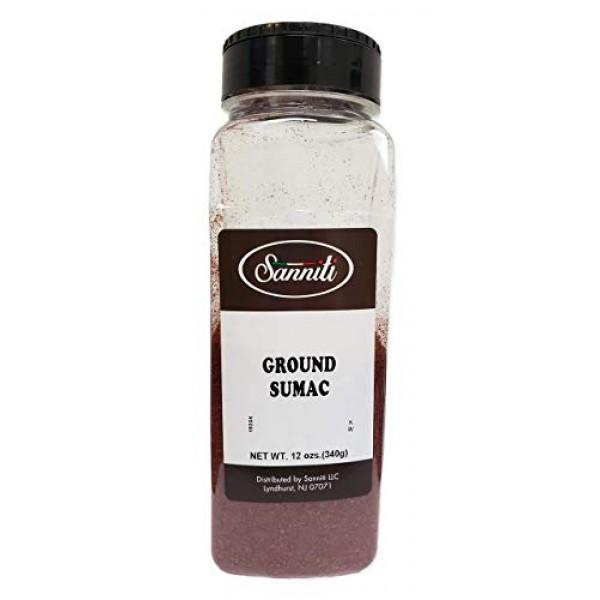 Sanniti Premium Ground Sumac, 12 Ounce