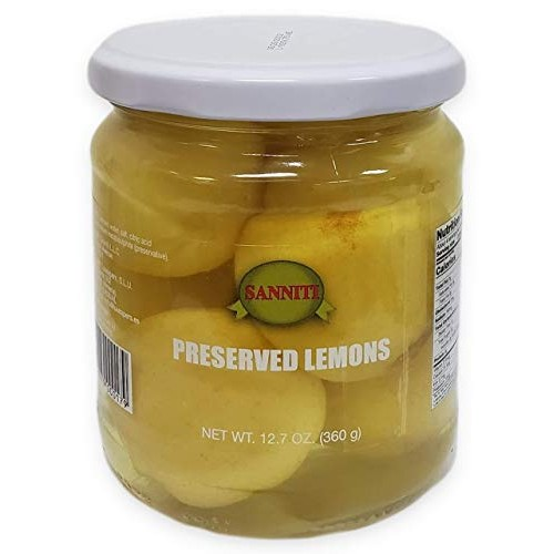 Sanniti Mini Preserved Lemons, 12.7 Ounce