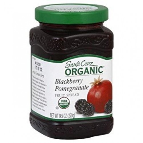 Organic Blackberry Pomegranate Fruit Spread 9.50 Ounces Case of 6