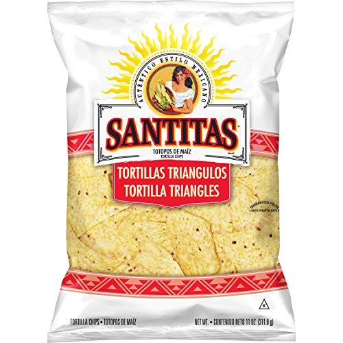 Santitas White Corn Tortilla Chips, 11 Ounce