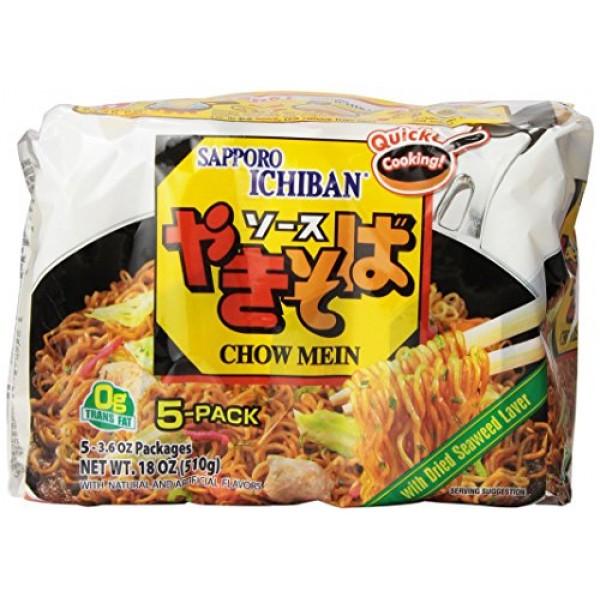 Sapporo Ichiban Chow Mein, 18 Ounce