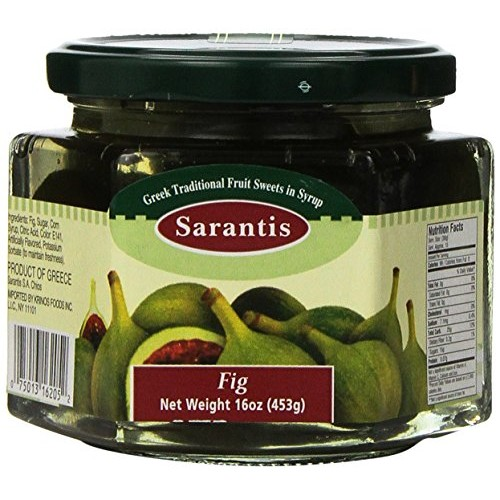 Fig Preserve (Sarantis) 16 oz (453g)