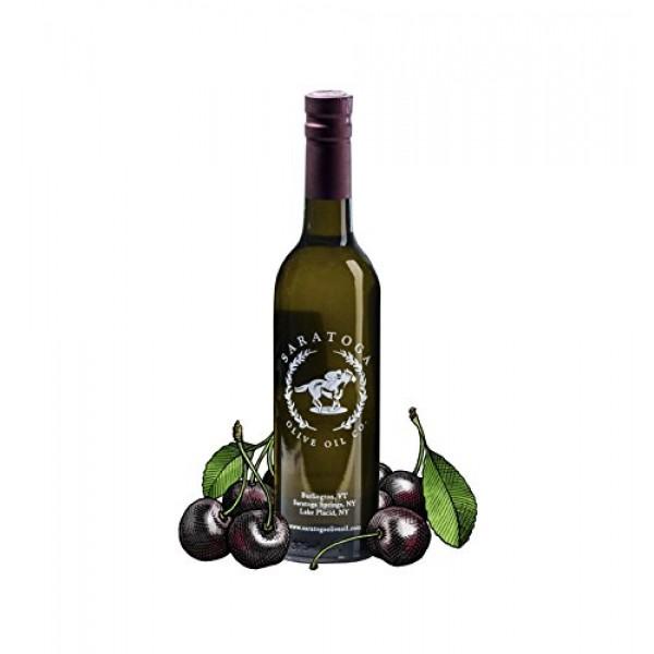 Saratoga Olive Oil Company Black Cherry Dark Balsamic Vinegar 20...