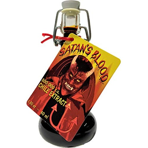 Satans Blood Chile Pepper Extract Hot Sauce, 1.35 Ounce