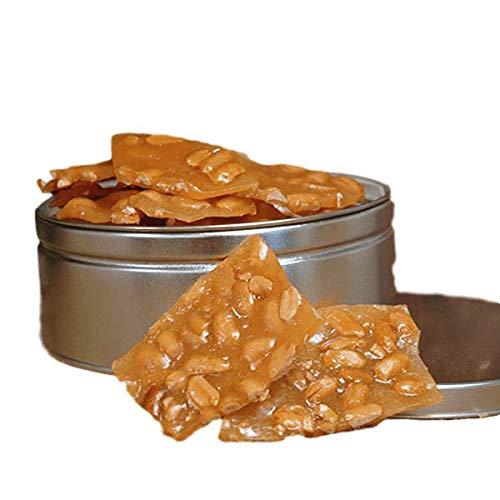 Handmade Gourmet Peanut Brittle Gift Tin | Savannahs Candy Kitc...