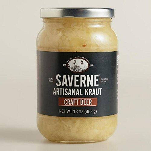 Saverne Craft Beer Artisanal Kraut 16 oz Pack of 3